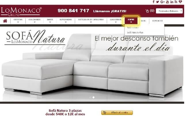 Achetez en ligne votre canapé 1