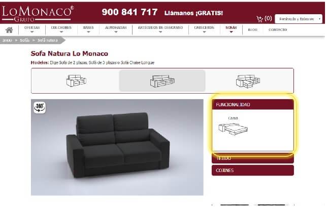 Achetez en ligne votre canapé 4