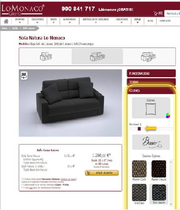 Achetez en ligne votre canapé 8