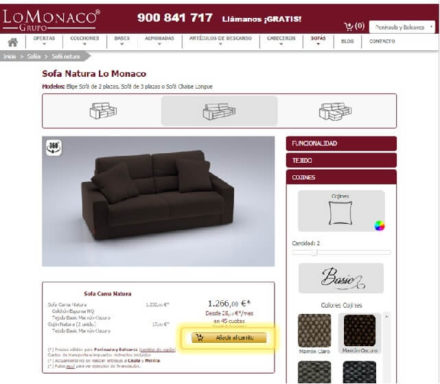 Achetez en ligne votre canapé 9