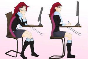 Hygiène posturale au travail : prendre soin de son dos